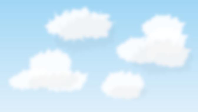 リアルな雲
