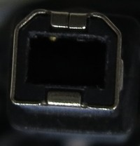 USB2.0側接続機器端子
