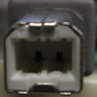 USB2.0接続機器側端子