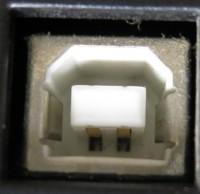 USB2.0接続機器側差込口