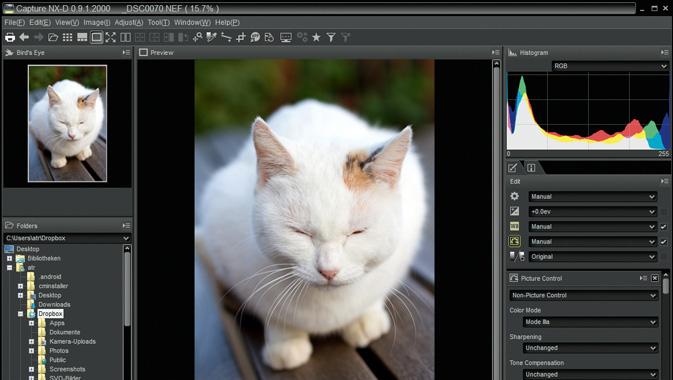 NikonのCapture NX-D(無償)