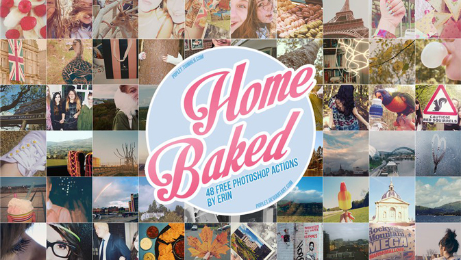 Home-Baked-Photoshop-Actions