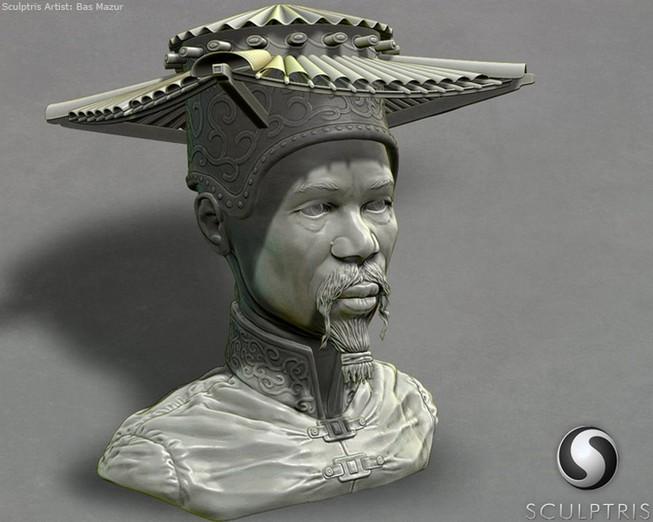 Sculptrisのサンプル作品