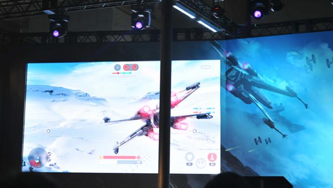ゲームプレイ画面の画像