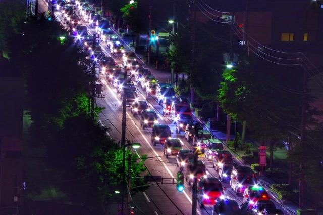 国道交通量イメージ