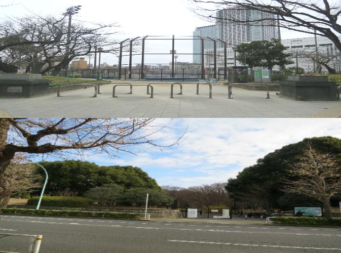 広域避難場所、錦糸町、代々木、公園、緊急避難場所