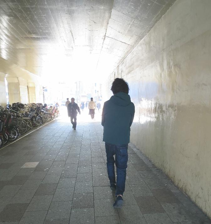 JR五反田駅 近く トンネル