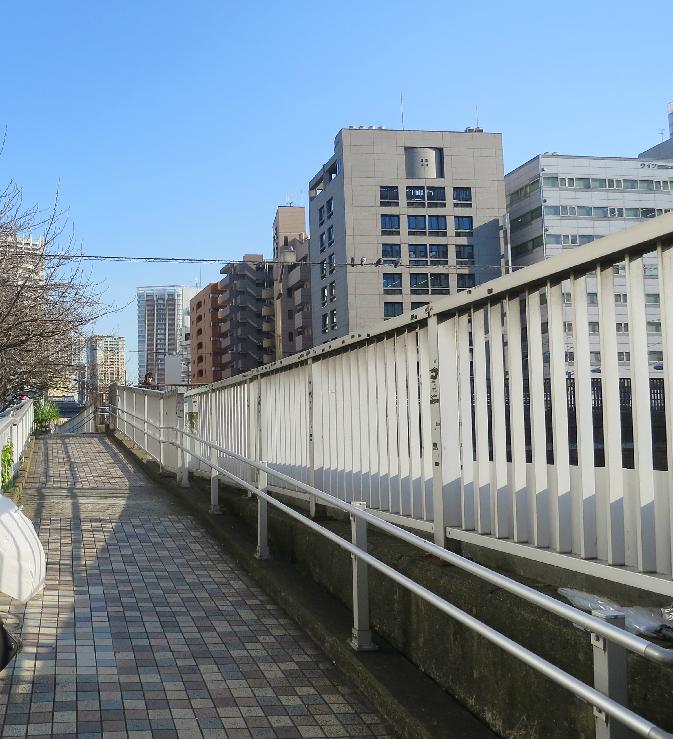 目黒川沿い 橋