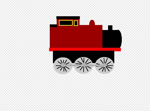 おしゃれな機関車