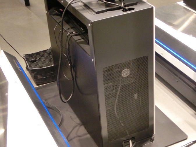 VRで使用されていた筐体