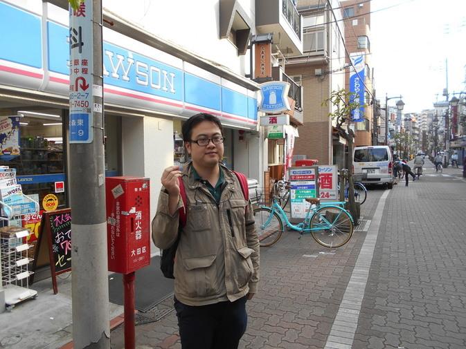 旧東海道コンビニ