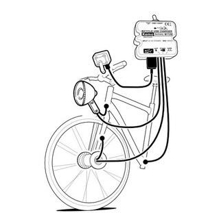 自転車充電器