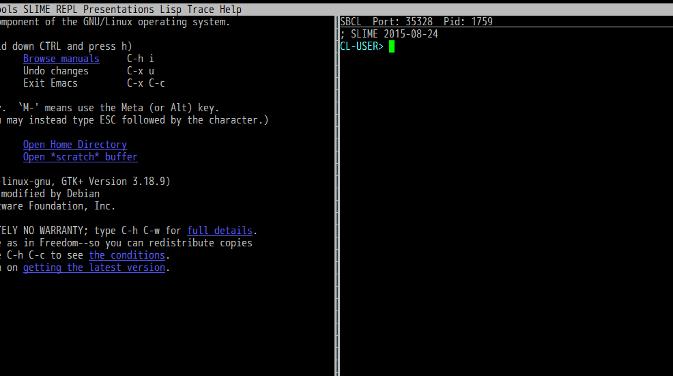 Common Lisp開発環境をつくる