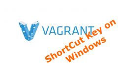 Windows環境ショットカットキーでVagrant起動