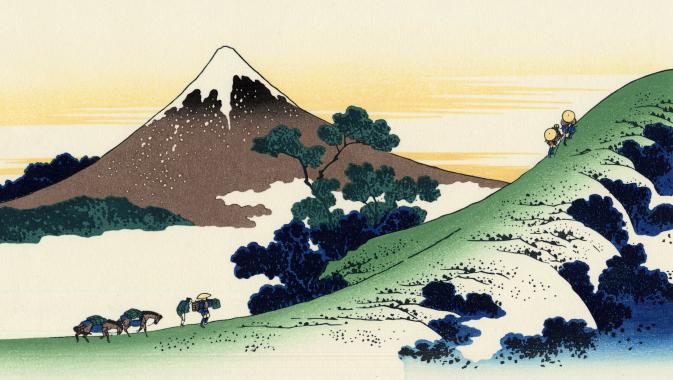 富士山コラージュの元の絵