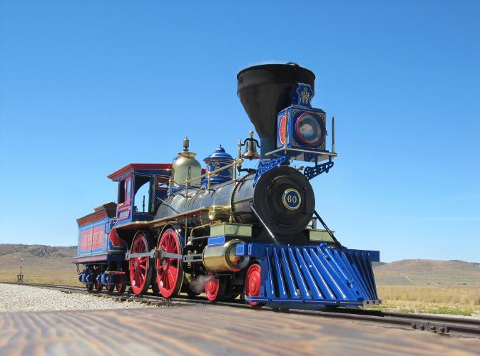 しるにひ素材写真「蒸気機関車」